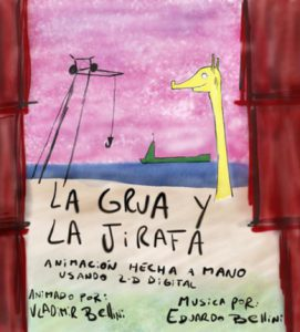 La grua y la jirafa (The crane and the giraffe)